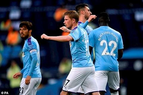 Thống kê Man City 3-0 Arsenal De Bruyne vẫn vô đối hình ảnh