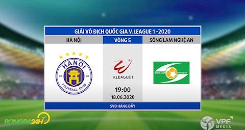 Link xem truc tiep tran dau bong da Ha Noi vs SLNA vong 5 V-League 2020 hom nay