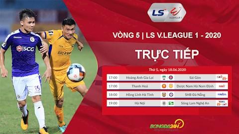 Trực tiếp VLeague hôm nay 1862020 Link xem V League VTV6 hình ảnh