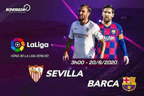 Sevilla vs Barca 3h00 ngày 206 La Liga 201920 hình ảnh