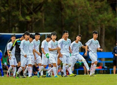 U19 HAGL thể hiện sức mạnh đáng nể ở vòng loại U19 quốc hình ảnh