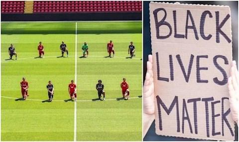 Ủng hộ George Floyd, các cầu thủ sẽ bị FA trừng phạt hình ảnh