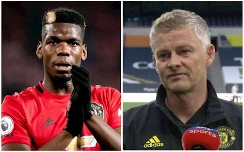 Vì sao tiền vệ Paul Pogba dự bị trước Tottenham hình ảnh