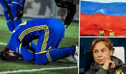 Thua vỡ mặt 10-1, thủ môn đội bóng Nga Rostov vẫn lập kỷ lục mới hình ảnh