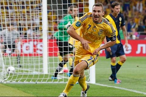 Ukraina 2-1 Thụy Điển Euro 2012 : Ngày Sheva nhắc nhở thế giới về đẳng cấp của mình