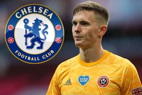 Chelsea săn ngọc quý ở hàng thủ MU - thủ môn Dean Henderson hình ảnh