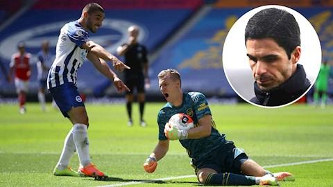 Cà khịa cầu thủ Arsenal, Maupay bị HLV Arteta phản pháo hình ảnh