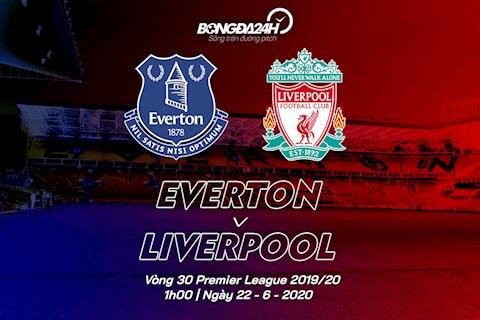 Trực tiếp Everton vs Liverpool vòng 30 Ngoại hạng Anh 2020 hình ảnh