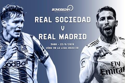 Trực tiếp bóng đá Sociedad vs Real Madrid La Liga 20192020 hình ảnh