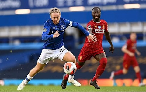 Everton vs Liverpool Davies vs Keita