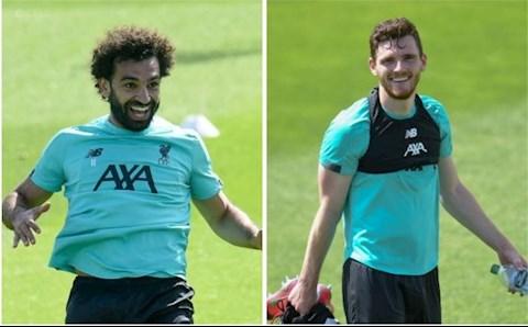 Mohamed Salah va Andy Robertson khong ra san truoc Everton