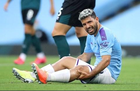 Aguero để ngỏ khả năng kịp bình phục chấn thương hình ảnh