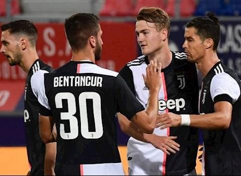 Bàn thắng kết quả Bologna vs Juventus 0-2 Serie A 201920 hình ảnh