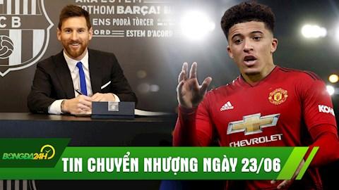 TIN CHUYỂN NHƯỢNG 236 Messi gia hạn HĐ 2 năm với Barca hình ảnh