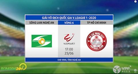 Link xem truc tiep tran dau bong da SLNA vs CLB TP Ho Chi Minh vong 6 V-League 2020 chieu hom nay
