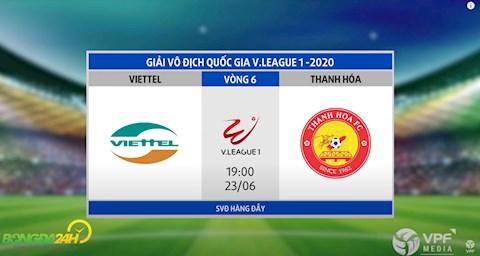 Link xem truc tiep tran dau bong da Viettel vs Thanh Hoa vong 6 V-League 2020 toi nay