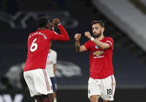 Pogba và Bruno Fernandes được Solskjaer tâng lên mây hình ảnh