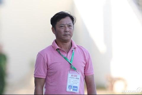 HLV Lê Huỳnh Đức trách lịch thi đấu của ban tổ chức hình ảnh