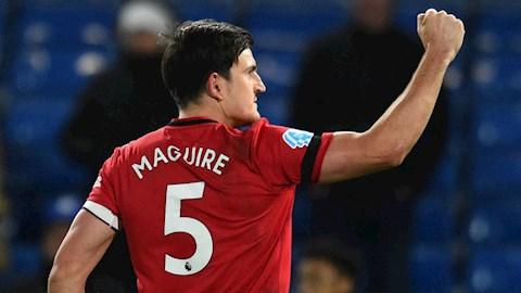 Maguire đặt mục tiêu san bằng kỷ lục 25 năm ở MU hình ảnh