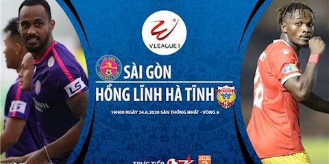 Sài Gòn vs Hà Tĩnh 19h00 ngày 246 V-League 2020 hình ảnh