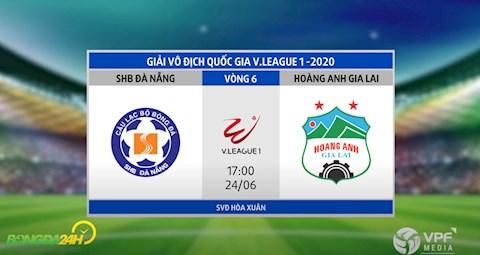 Link xem truc tiep tran dau Da Nang vs HAGL vong 6 V-League 2020 chieu toi nay 19/6
