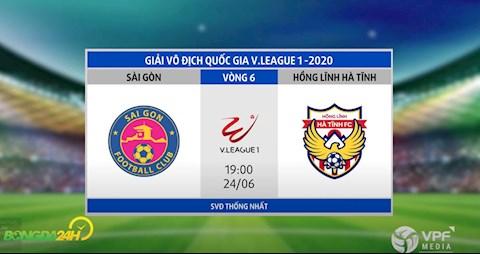 Link xem truc tiep tran dau Sai Gon vs Ha Tinh vong 6 V-League 2020 toi hom nay 19/6