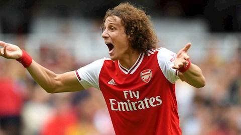 Bị CĐV Arsenal đuổi cổ, David Luiz vẫn được bảo vệ hình ảnh