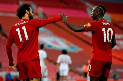 Salah phấn khích khi Liverpool tiến gần chức vô địch NHA lịch sử hình ảnh