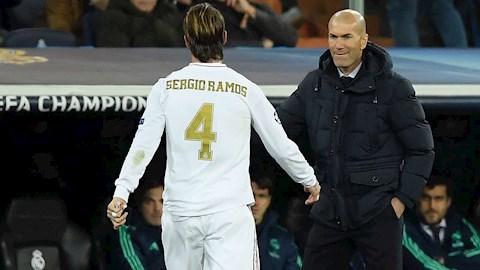 Hậu siêu phẩm, Ramos được Zidane khuyên giải nghệ ở Real Madrid hình ảnh