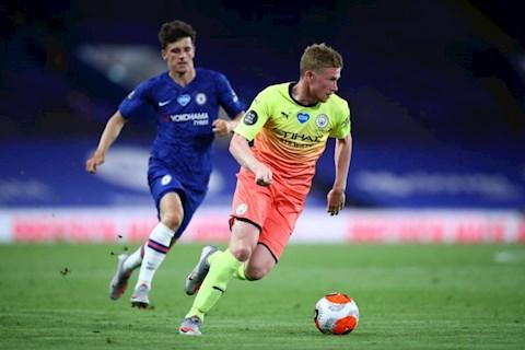 Chelsea 2-1 Man City De Bruyne
