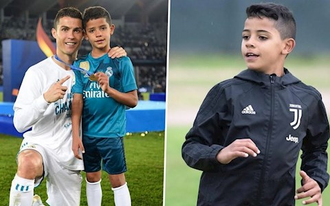 Cristiano Jr va Ronaldo