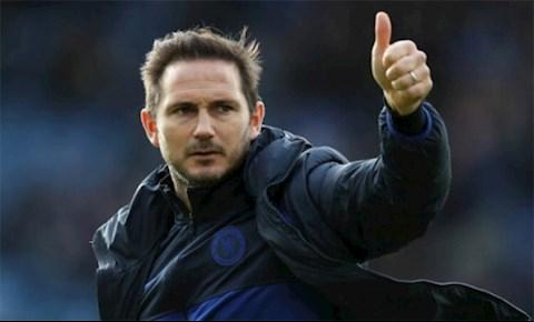 HLV Lampard noi ve chien thang truoc Man City