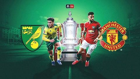 Lịch thi đấu Norwich vs MU hôm nay 276 - LTD Cúp FA 2020 hình ảnh