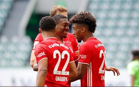 Wolfsburg 0-4 Bayern Munich Hùm xám chạm mốc 100 bàn trong ngày nhận Chiếc đĩa bạc hình ảnh 2