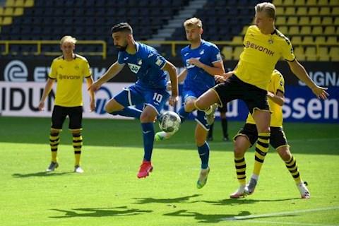 Dortmund 0-4 Hoffenheim Đội bóng vùng Ruhr thua sốc trong ngày khép lại Bundesliga 201920 hình ảnh 2