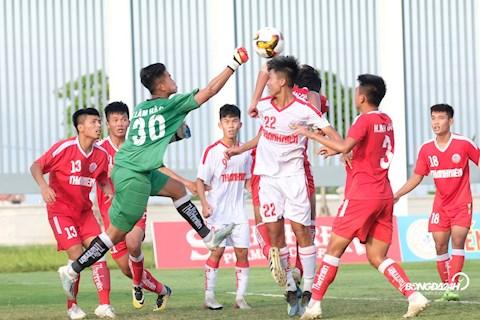 U19 PVF vs U19 HAGL giai U19 Quoc gia 28/6