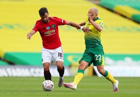 Trực tiếp bóng đá Norwich 1-1 MU (H2) hình ảnh 2