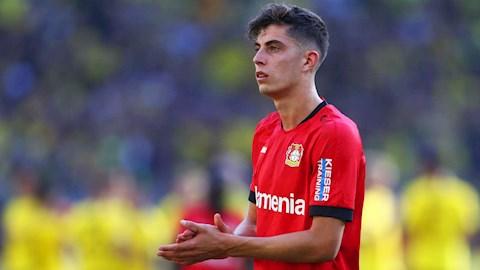 HLV Leverkusen lên tiếng về tương lai Kai Havertz hình ảnh