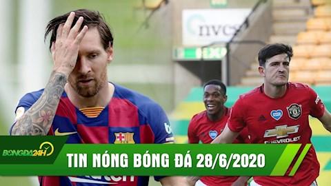 TIN NÓNG BÓNG ĐÁ 286 Messi bất lực, Barca hòa thất vọng hình ảnh