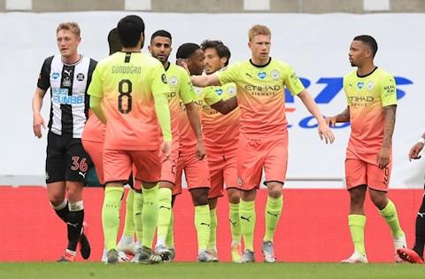 Trực tiếp bóng đá Newcastle 0-2 Man City (H2) Sterling định đoạt trận đấu hình ảnh 3