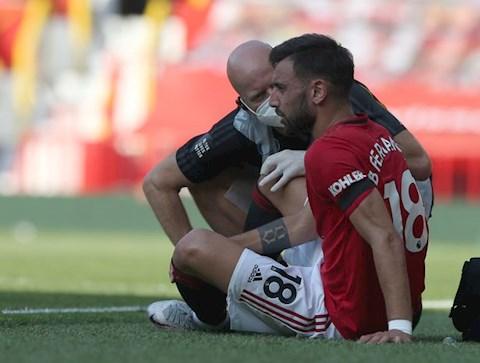 Tiền vệ Bruno Fernandes bỏ lỡ trận gặp Brighton vì chấn thương hình ảnh