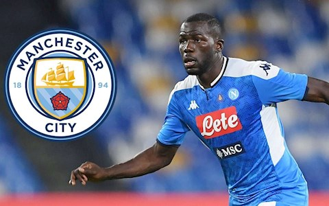 Man City mua Koulibaly