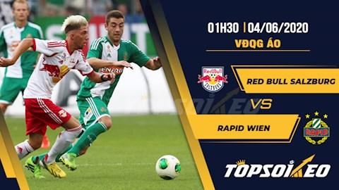 Salzburg vs Rapid Wien 1h30 ngày 46 VĐQG Áo 201920 hình ảnh
