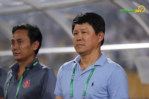 HLV Vũ Tiến Thành chia sẻ sau trận thắng HAGL hình ảnh