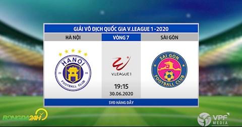 Trực tiếp bóng đá Hà Nội vs Sài Gòn link xem trực tuyến hình ảnh