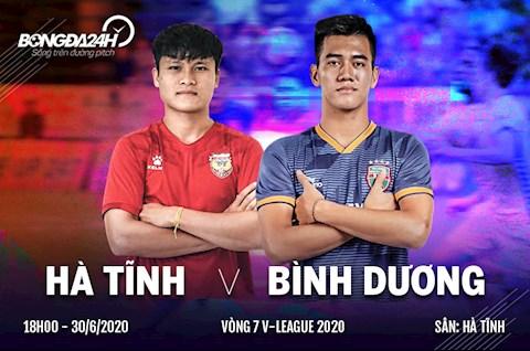 Link xem truc tiep Hong Linh Ha Tinh vs Binh Duong vong 7 Vleague 2020