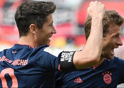 Bayern Munich thang Lever Lewan va Muller