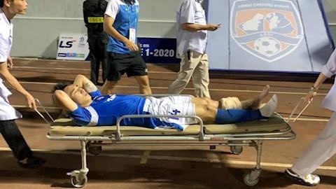 Chủ tịch Than Quảng Ninh bức xúc với trọng tài sau chấn thương củ hình ảnh
