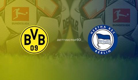 Trực tiếp Dortmund vs Hertha Berlin hôm nay Bundesliga 2020 hình ảnh