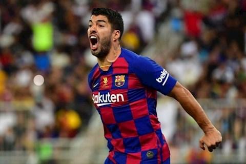 Barca chào đón sự trở lại của tiền đạo Luis Suarez hình ảnh